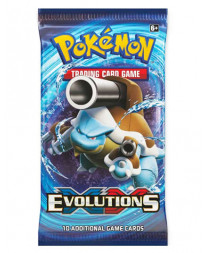 POKEMON TRADING CARD GAME EVOLUTIONS BOOSTER