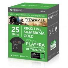 BUNDLE 25 MESES LIVE GOLD Y PLAYERA TITANFALL
