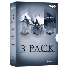 BATMAN ARKHAM TRIPLE PACK