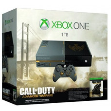 CONSOLA XBOX ONE GRIS 1TB EDICION LIMITADA CALL OF DUTY ADVANCED WARFARE