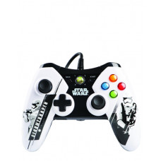 XBOX 360 WIRED CONTROLLER STAR WARS STORM TROOPER EDITION