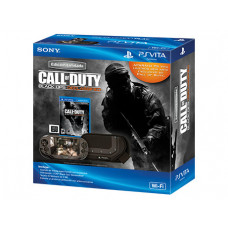 CONSOLA PSVITA NEGRO CON CALL OF DUTY BLACK OPS DECLASSIFIED