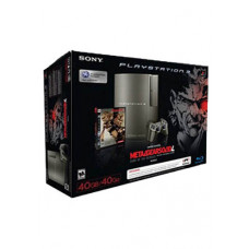 CONSOLA PLAYSTATION 3 NEGRO 40GB METAL GEAR SOLID 4 GUNS OF THE PATRIOTS