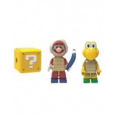 SUPER MARIO 3 PACK BUILDABLE FIGURE BOOMERANG MARIO KOOPA AND MISTERY FIGURE