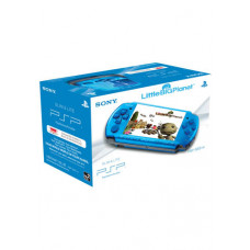 CONSOLA PSP AZUL LITTLE BIG PLANET