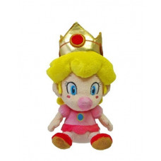 SUPER MARIO  PLUSH BABY PEACH  5 INCH