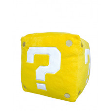 SUPER MARIO PLUSH COIN BOX PILLOW