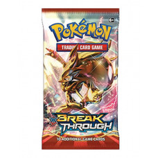 POKEMON TRADING CARD GAME BREAK THROUGH BOOSTER