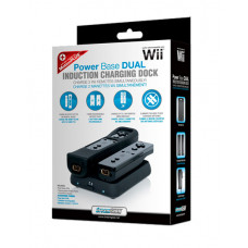 WII DUAL POWER BASE BLACK