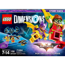 LEGO DIMENSIONS STORY PACK THE LEGO BATMAN MOVIE