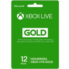 TARJETA XBOX LIVE GOLD 12 MESES HALO 5 EXCLUSIVE EDITION