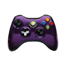XBOX 360 WIRELESS CONTROLLER CHROME PURPLE