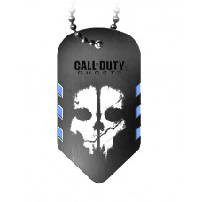 CALL OF DUTY GHOSTS GUNMETAL DOGTAG