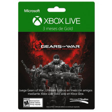 TARJETA XBOX LIVE GOLD 3 MESES GOW ULTIMATE EDITION