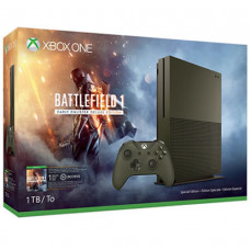CONSOLA XBOX ONE S VERDE 1TB CON BATTLEFIELD 1 Y 12 MESES XBOX LIVE GOLD