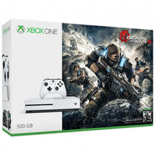 CONSOLA XBOX ONE S BLANCO 500GB CON GEARS OF WAR 4