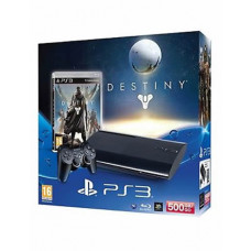 CONSOLA NUEVO PLAYSTATION 3 SLIM NEGRO 500GB DESTINY
