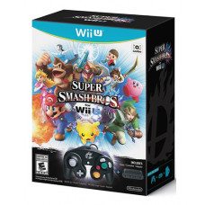 SUPER SMASH BROS WIIU BUNDLE CON CONTROL