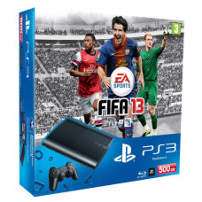 CONSOLA NUEVO PLAYSTATION 3 SLIM NEGRO 250GB FIFA 13