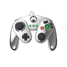 WIIU WIRED FIGHTPAD METAL MARIO