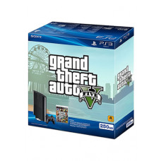 CONSOLA NUEVO PLAYSTATION 3 SLIM NEGRO 250GB GRAND THEFT AUTO V