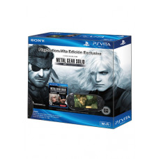 CONSOLA PSVITA NEGRO CON METAL GEAR SOLID HD COLLECTION