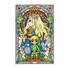 MAXI POSTERS THE LEGEND OF ZELDA STAINED GLASS