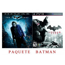 BATMAN ARKHAM CITY DVD BUNDLE